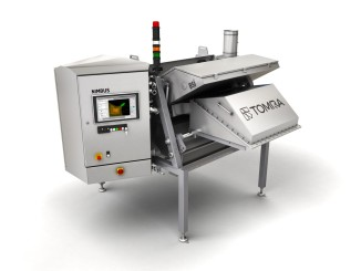 Tomra Sorting Food Presents Free-Fall System at Foodex 2016