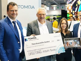 Tomra and Greenyard Frozen Donate to MS Charity