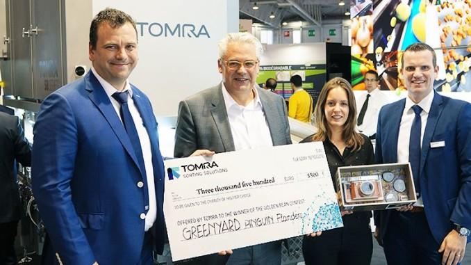 Greenyard News: Tomra And Greenyard Frozen Donate To MS Charity