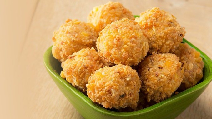 Spicy Breaded Corn Nuggets Frozen Food Europe