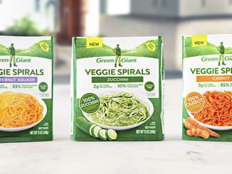 Green Giant Introduces Veggie Spirals