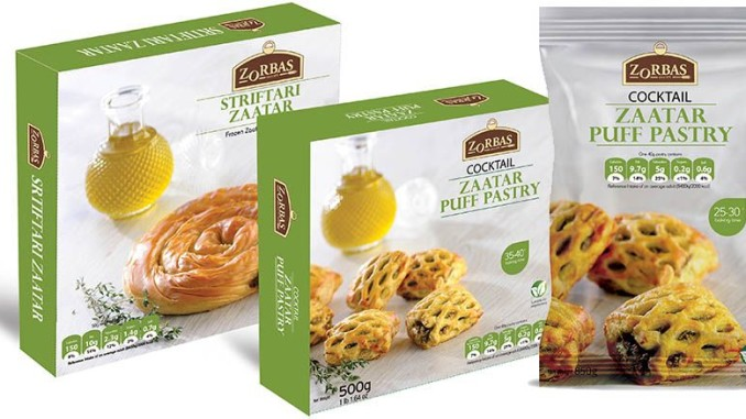 Zorba Launches the Zaatar Spice Blend - Frozen Food Europe