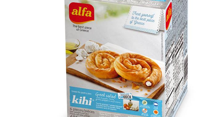 Greek Alfa Pastry