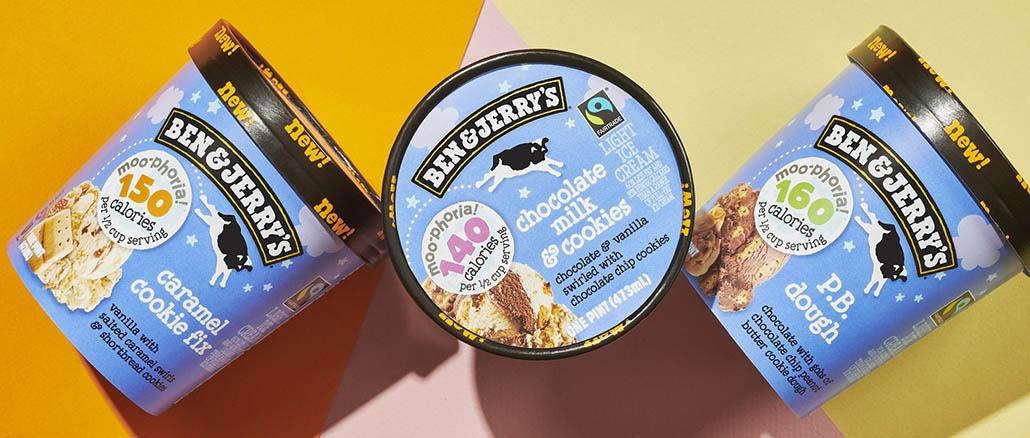 Ice cream Ben & Jerry's light