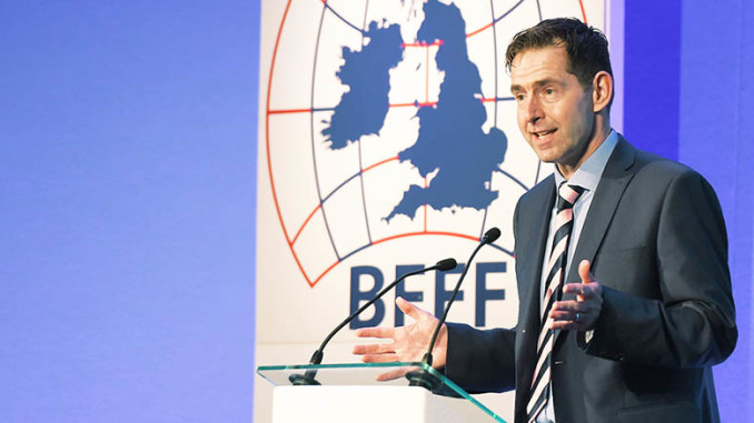 John Hyman British Frozen Food Federation's gathering