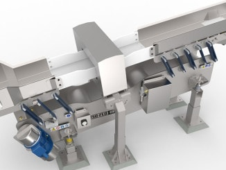 Specialized Iso-Flo Conveyor by Key Technology