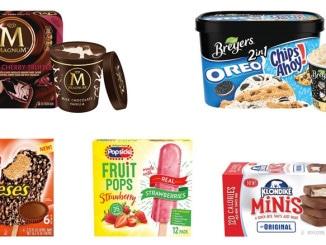 Unilever Introduces 20 New Frozen Treats