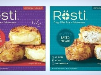Swiss Rösti Now Offers Frozen Filled Potato Product Line