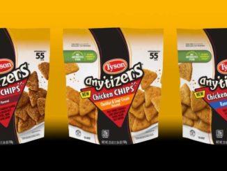 Tyson Debuts Chicken Chips