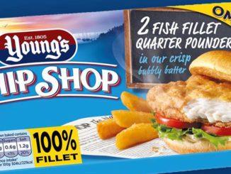 Young's New Chip Shop Fillet of Fish Quarter Pounder Lands at ASDA